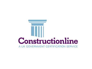 Constructionline logo accreditation